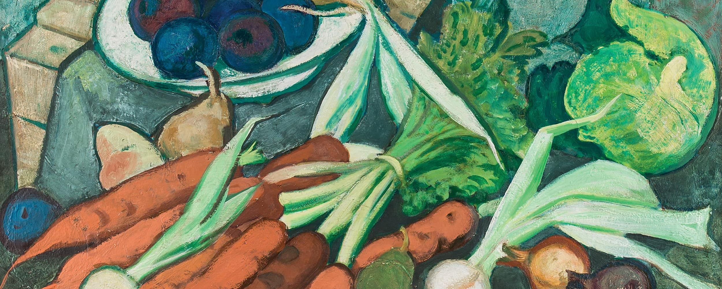 Gemüsestillleben | 1960