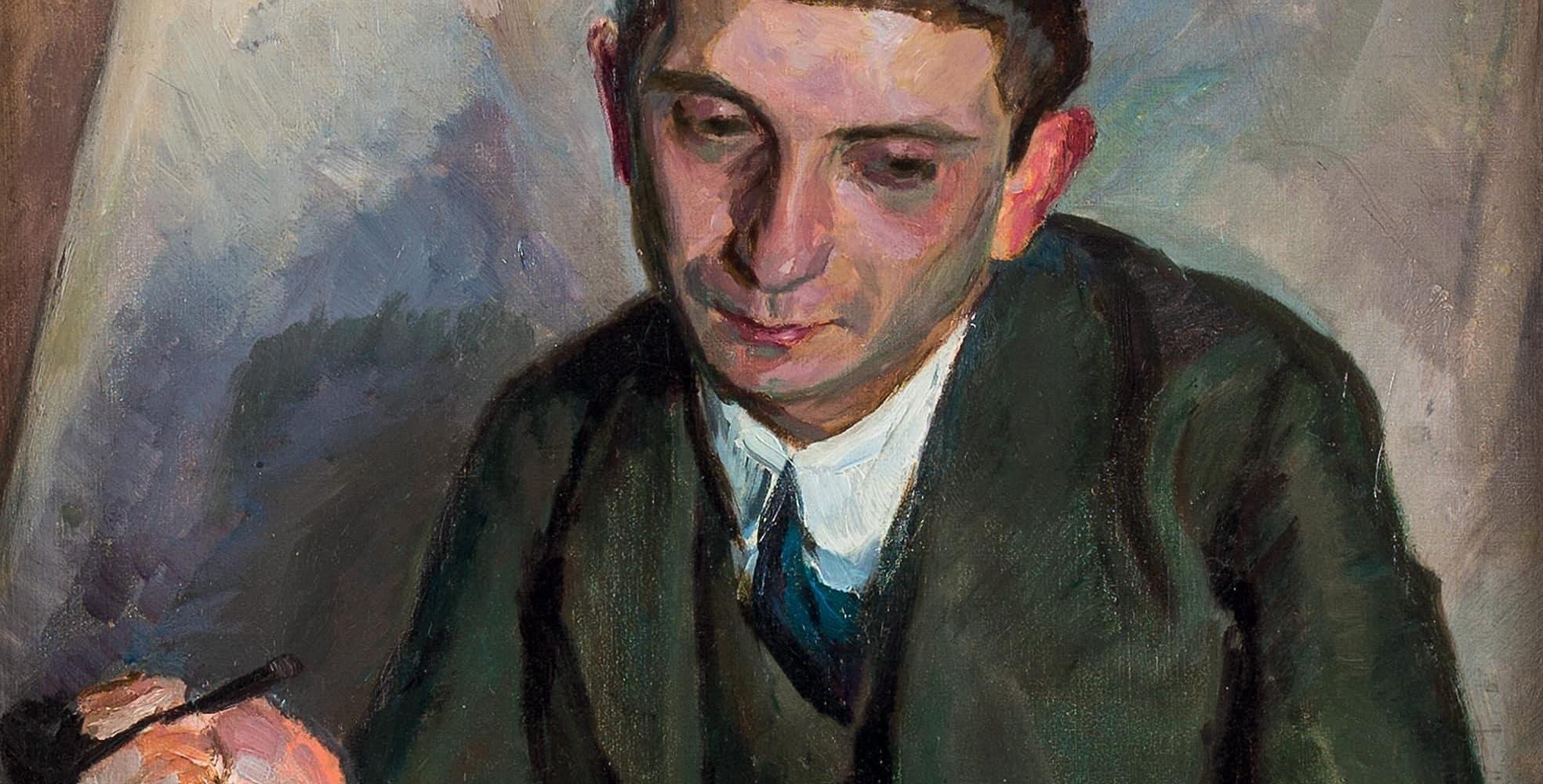 Porträt Ludwig Jonas   um 1912