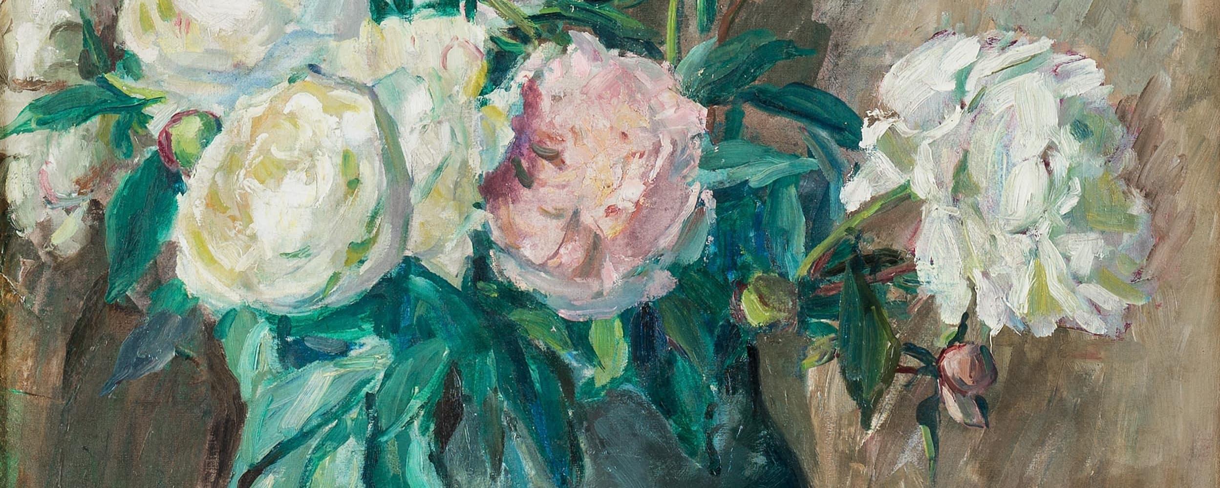 Blumenstillleben mit Pfingstrosen | o. D.