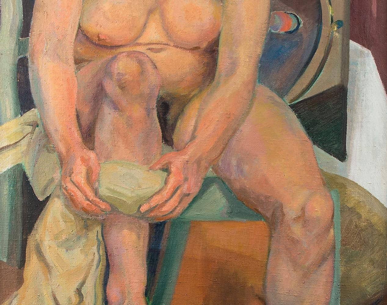 Sitzender Frauenakt | 1928
