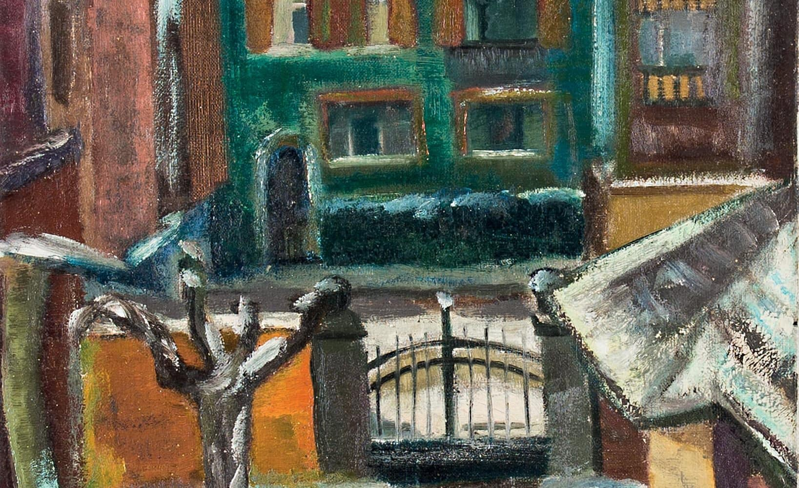 Städelschule im Winter | um 1928/29