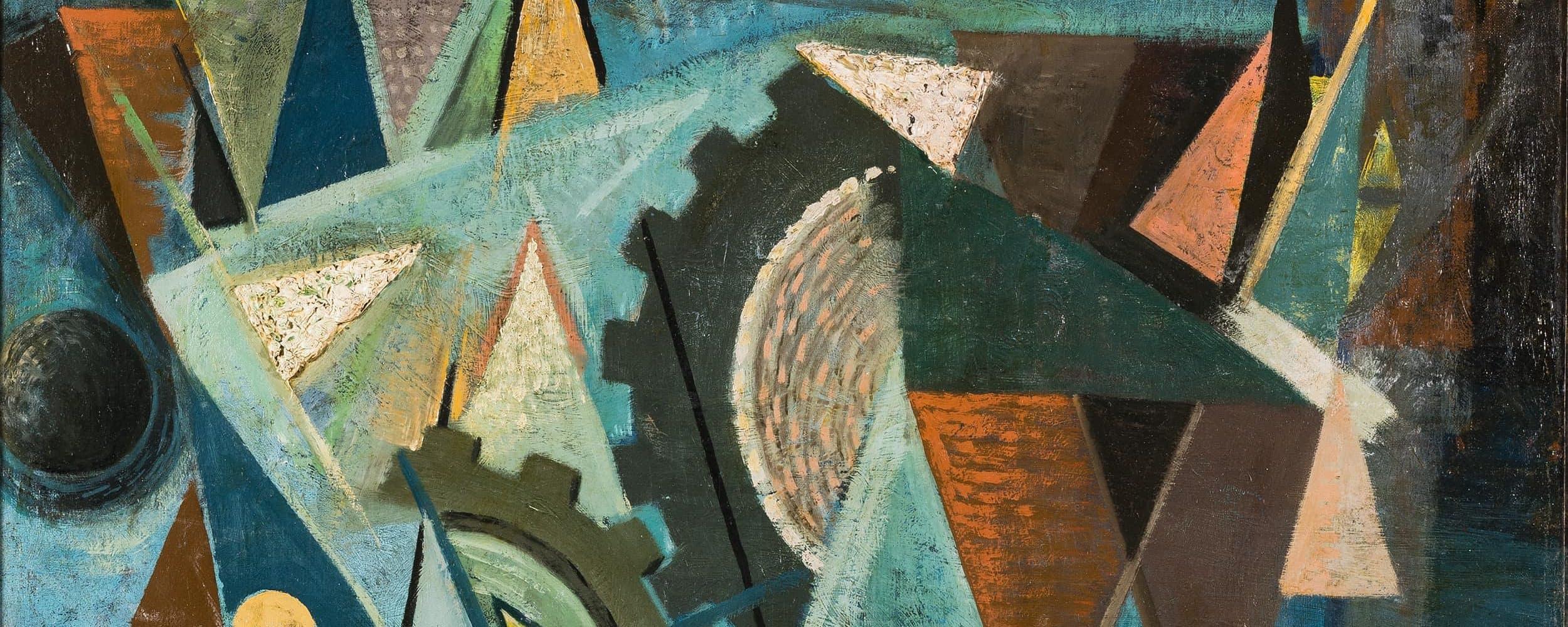 Stillleben mit geometrischen Formen | 1917