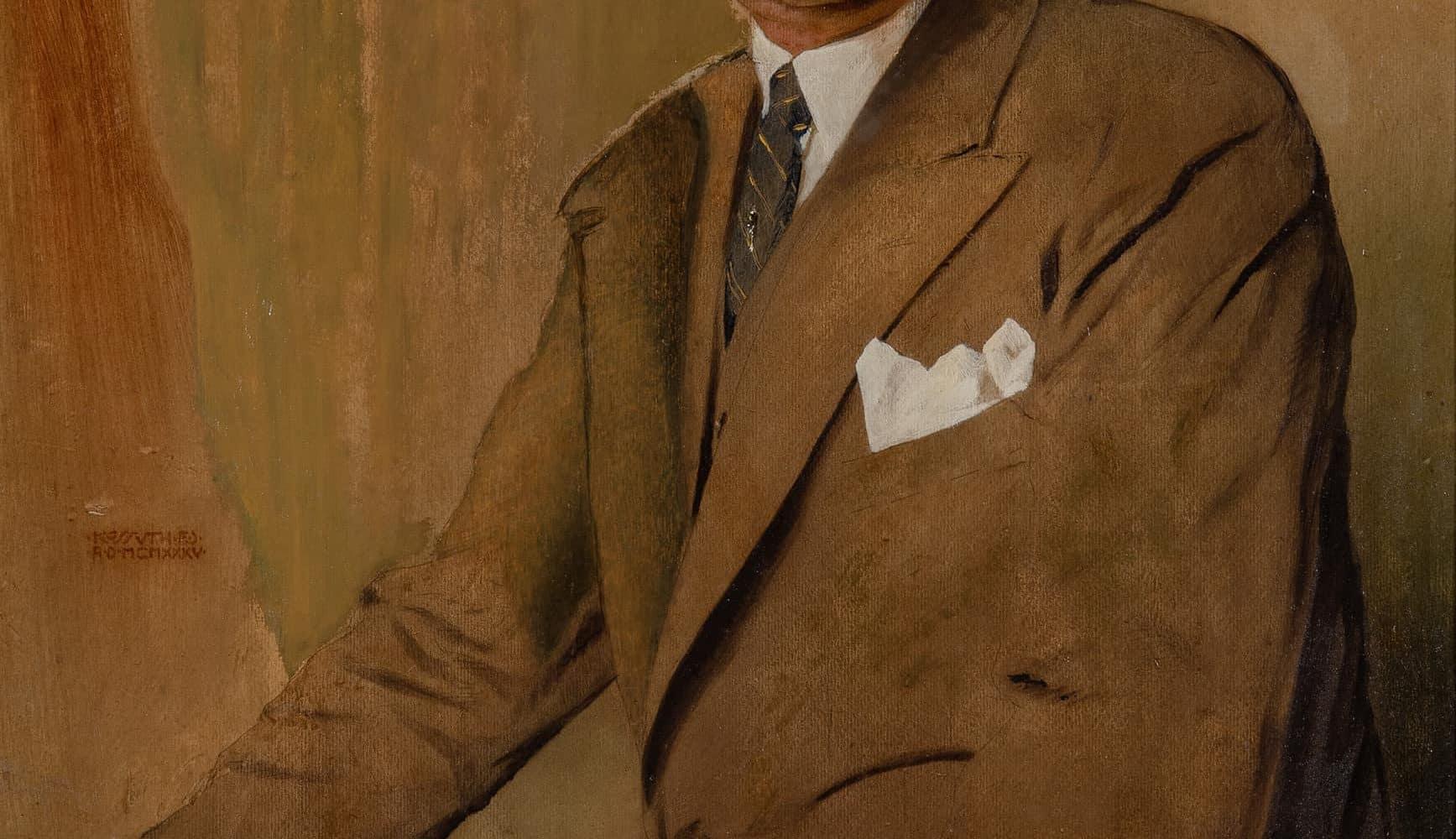 Herrenporträt  | 1935