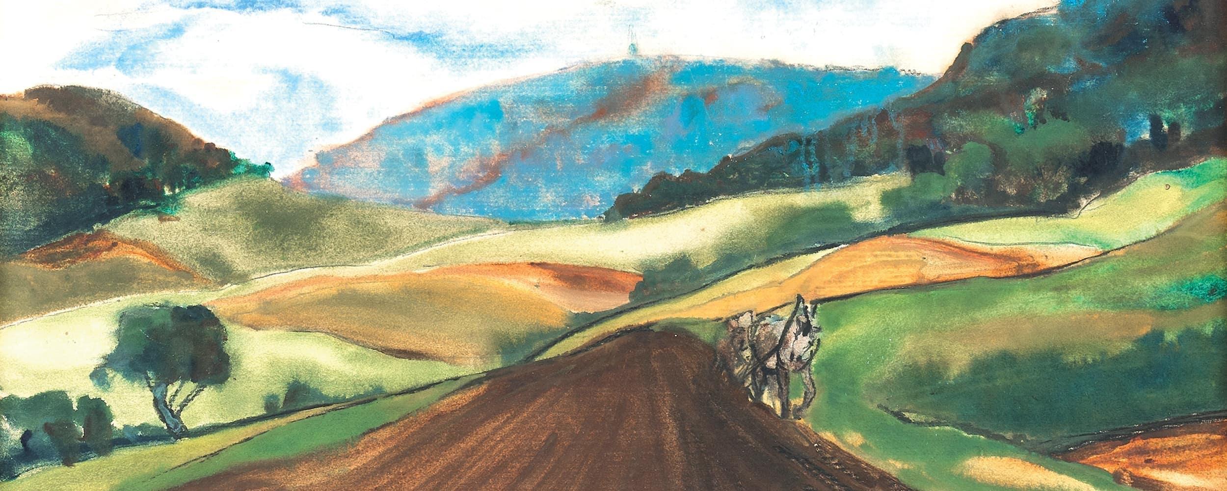 Landschaft in Hessen | 1936