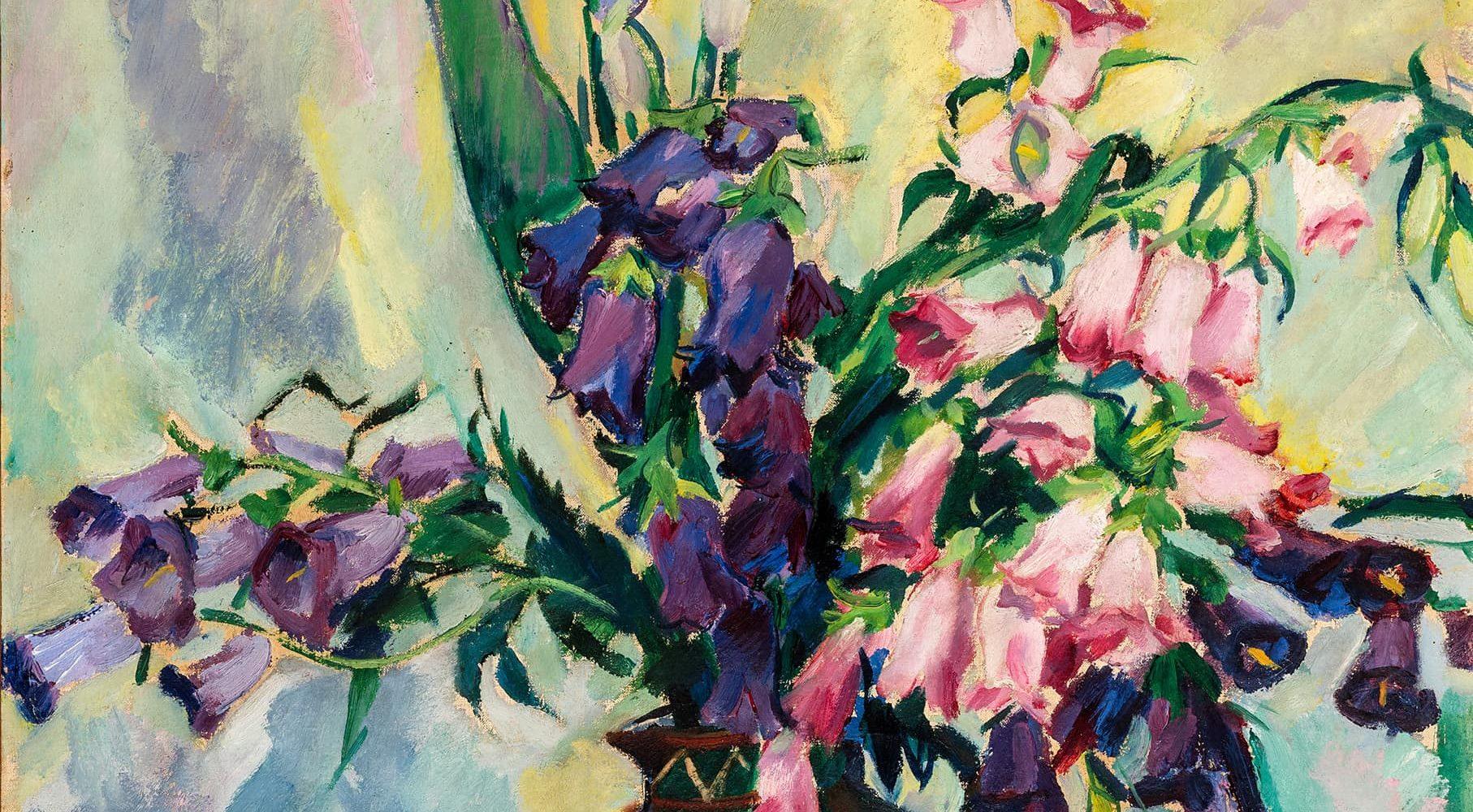 Glockenblumen und Iris | 1920