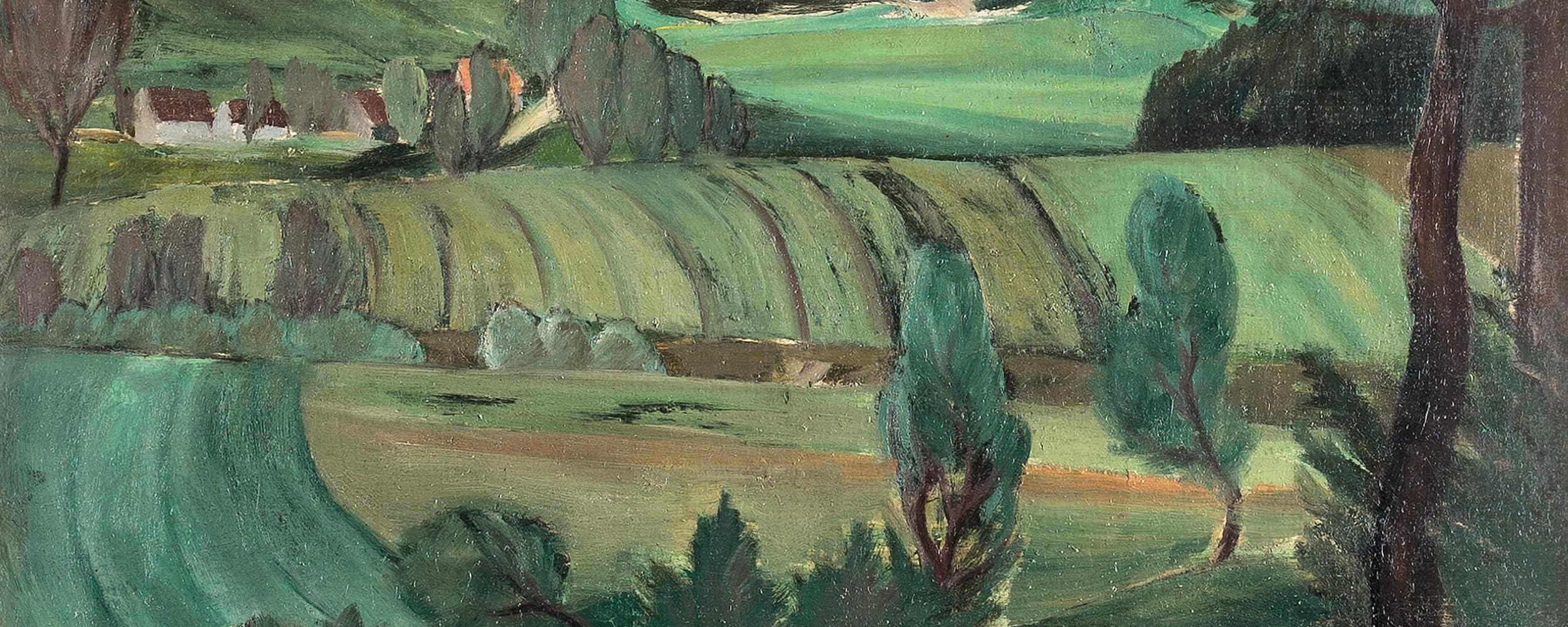 Landschaft bei Zusmarshausen | 1924