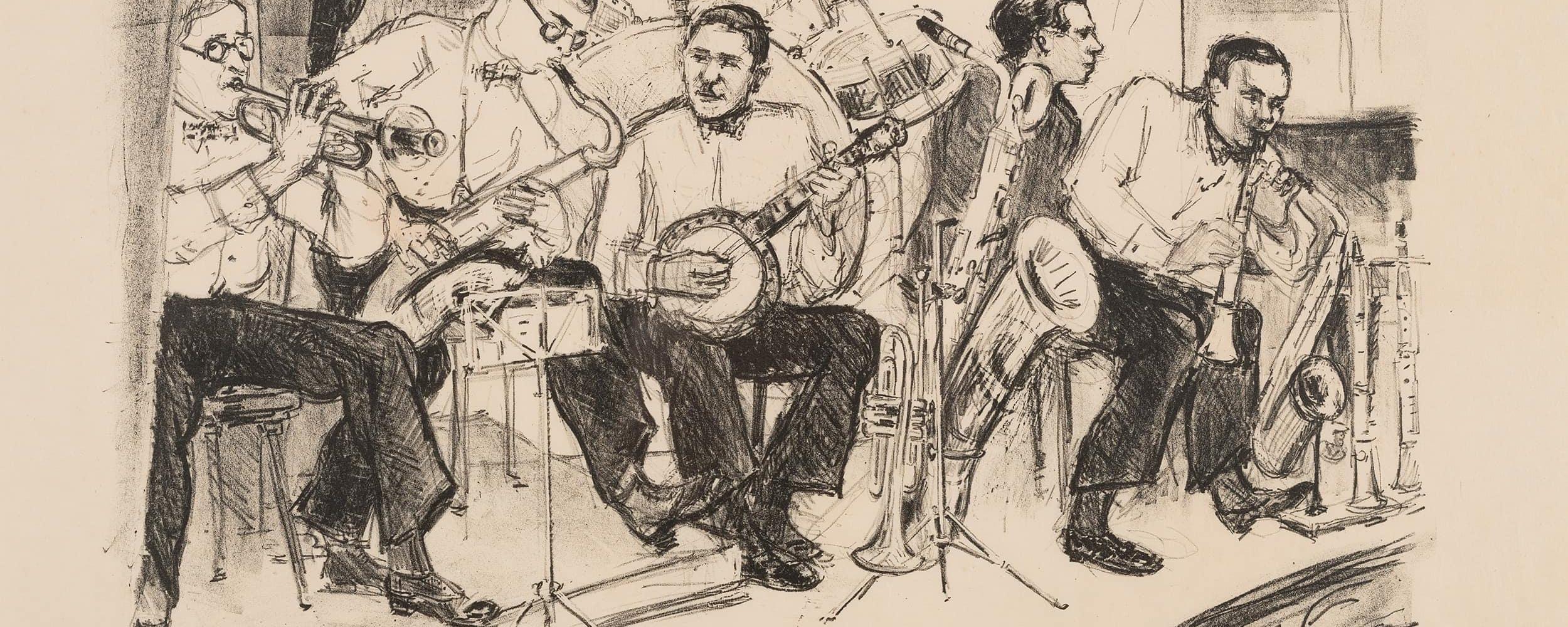 Die Jazzcombo Weintraub Syncopators  | 1928