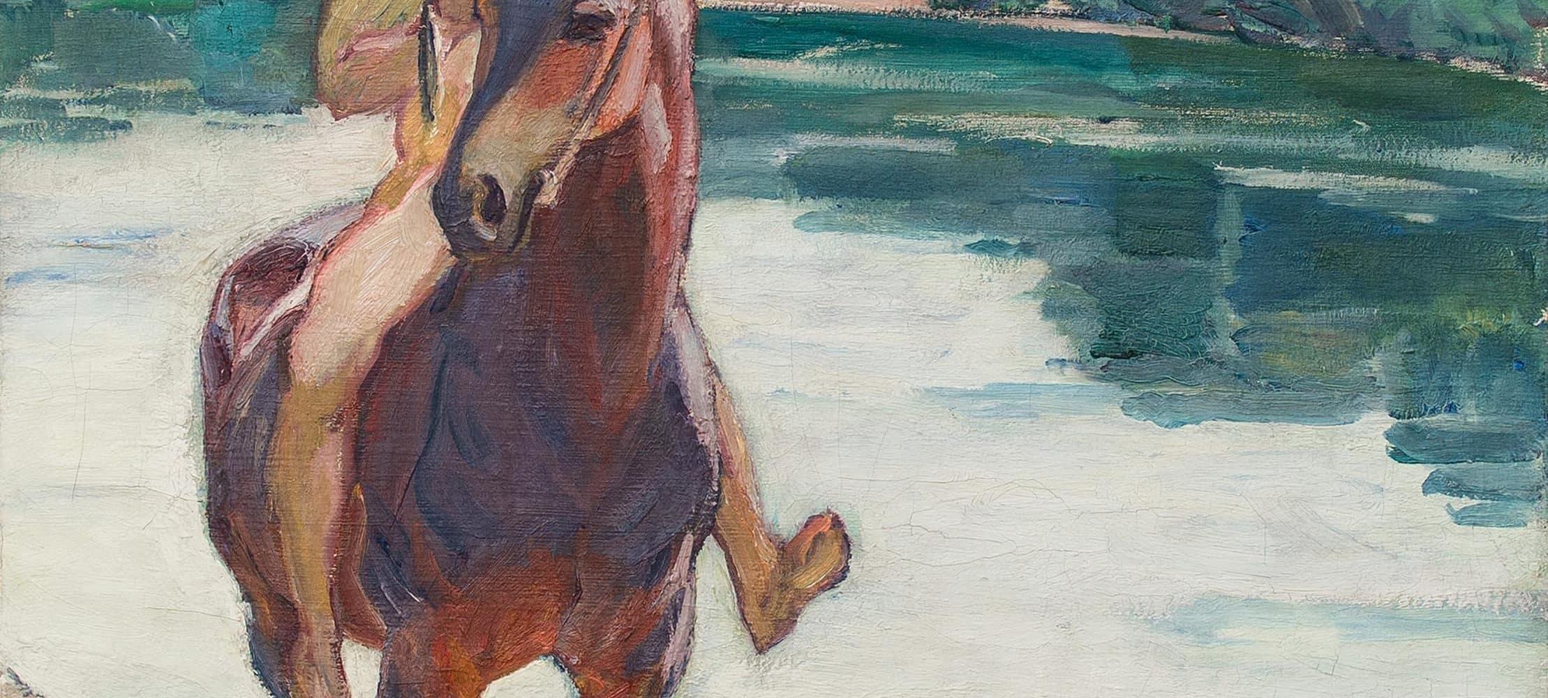 Reiter am Fluss | 1914