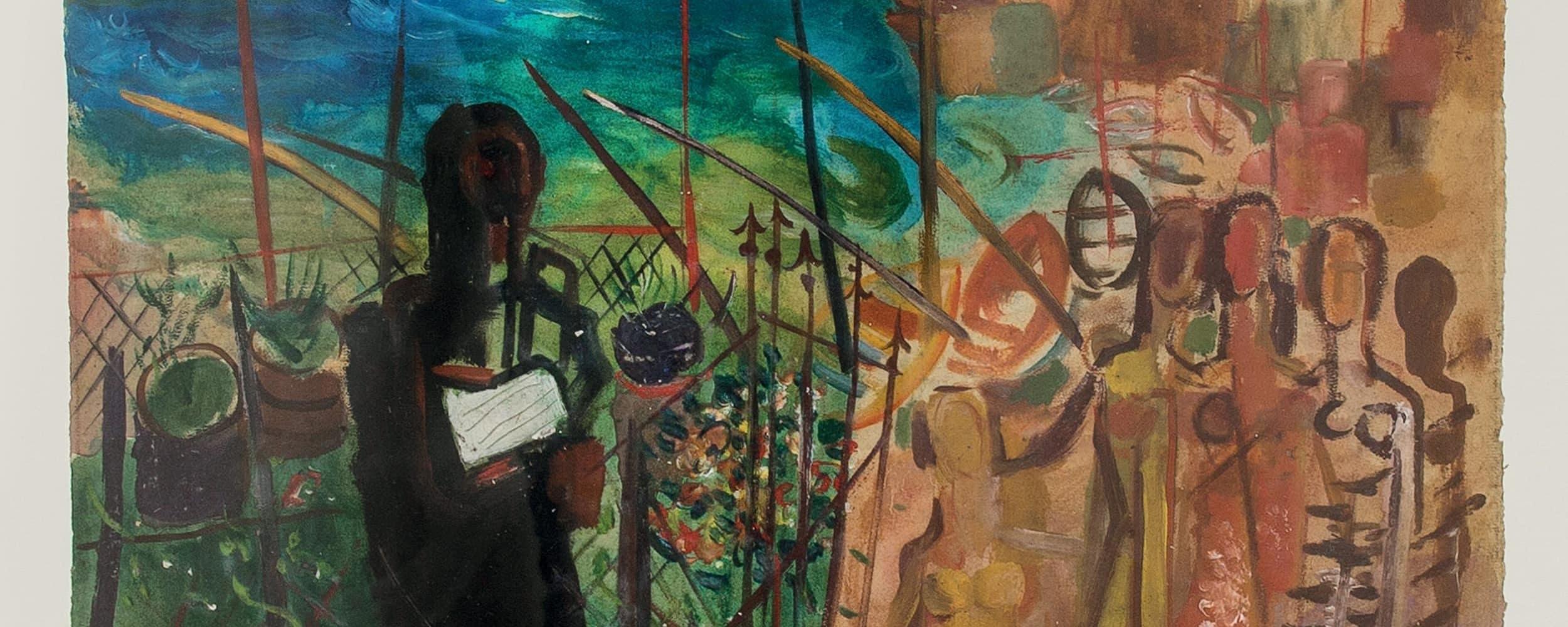 Prozession am Mittelmeer  | 1932