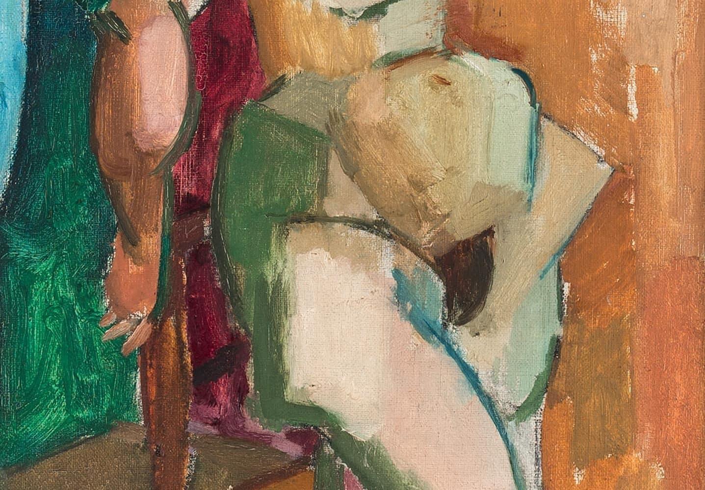 Stehender weiblicher Akt | 1927