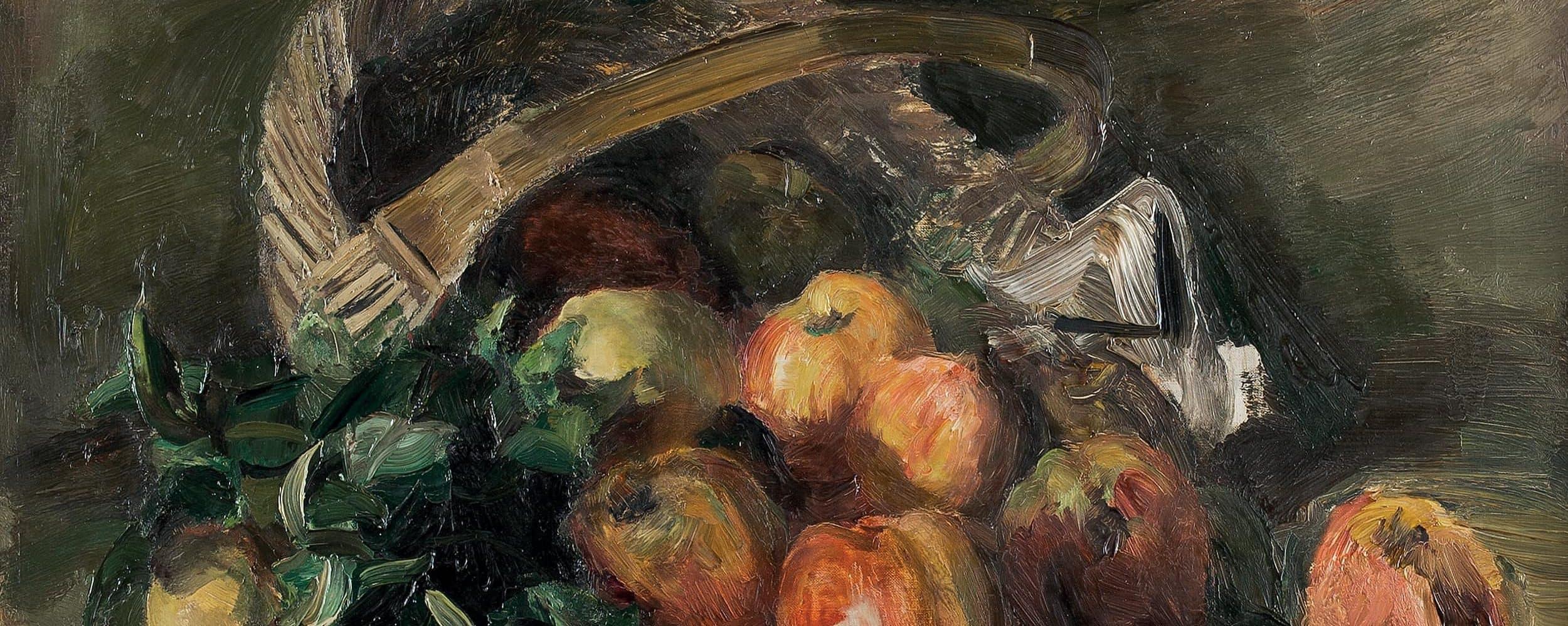 Stillleben mit Apfelkorb | o. D.