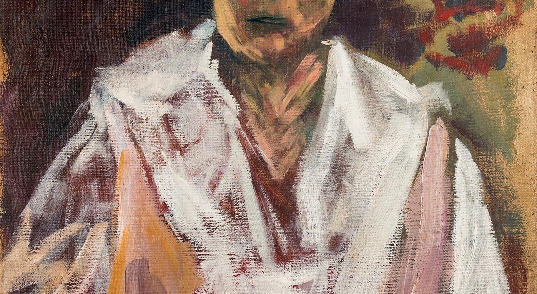 Porträt Charlotte Wohlmuth | 1920