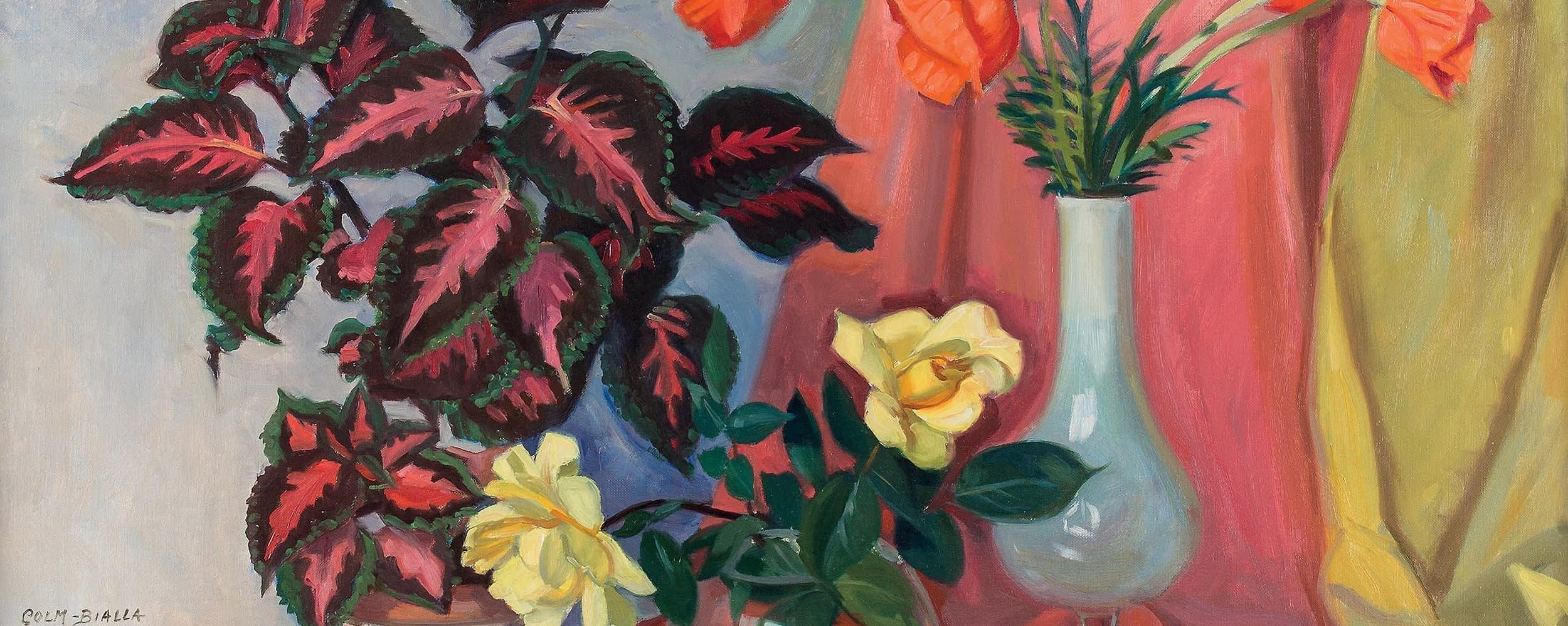 Stillleben mit Blumensträußen | 1962