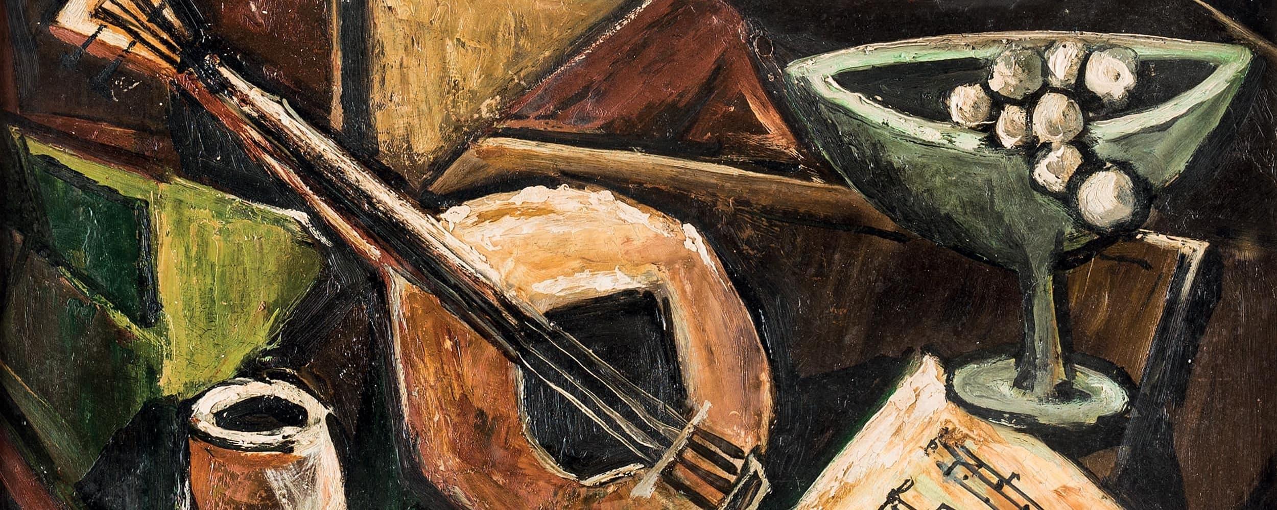 Kubistisches Stillleben mit Mandoline | o. D.