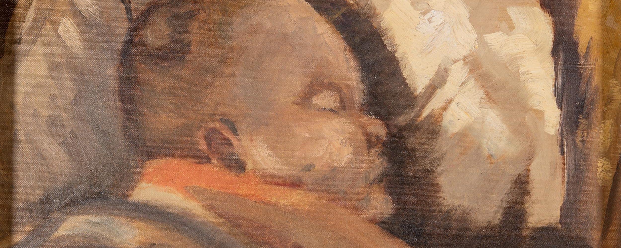 Schlafendes Kind | 1908
