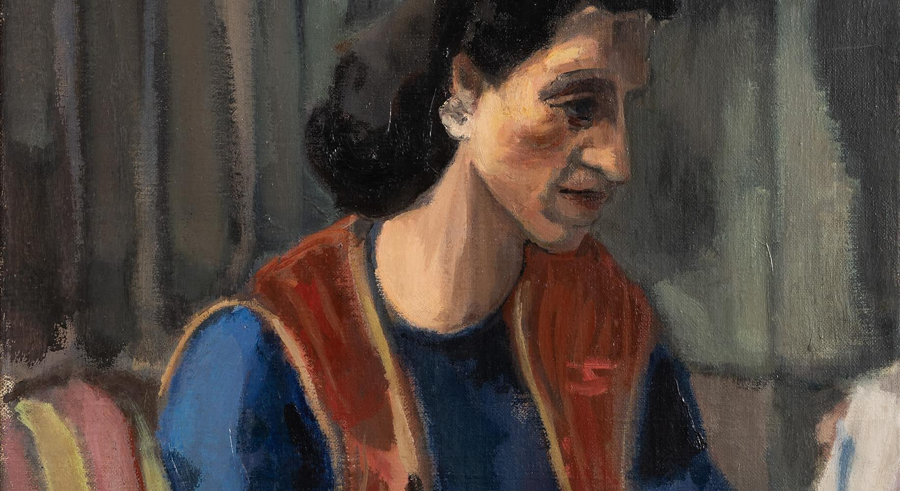 Porträt Frau Hoffmann | 1942