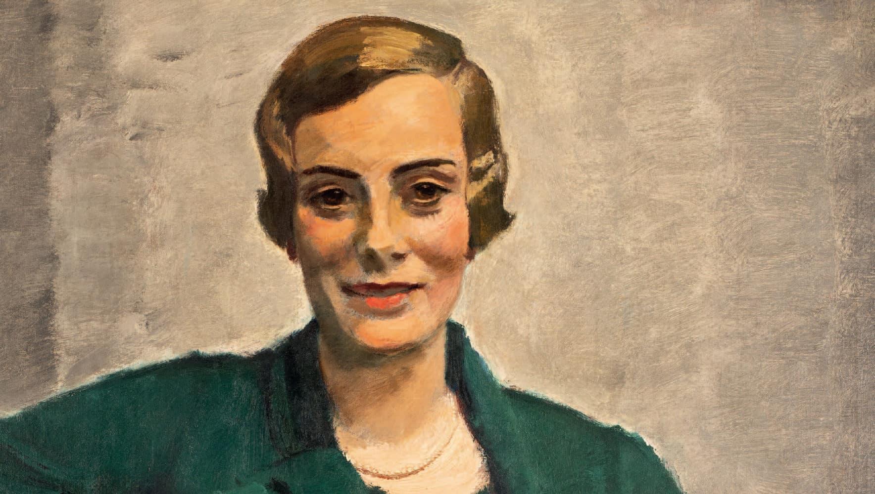 Porträt Mela Kempinski (1884–1972) | 1933