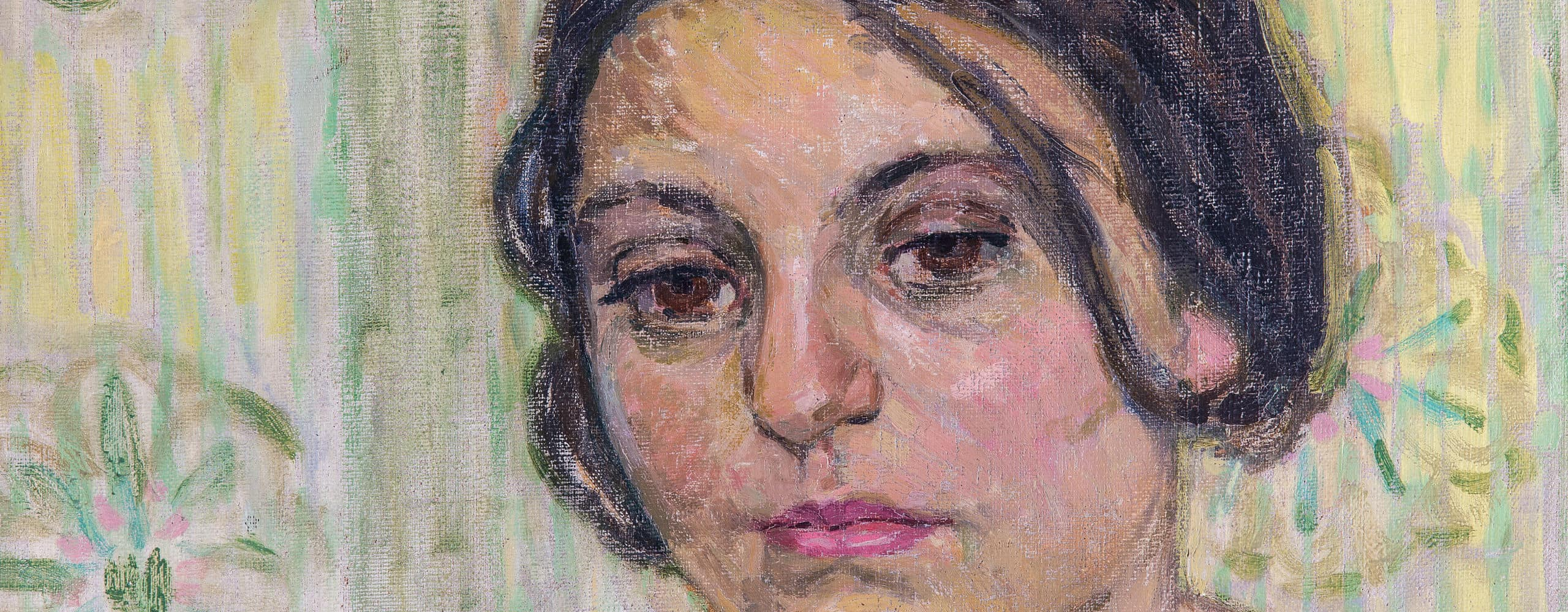 Akt einer jungen Frau auf grünem Sofa | 1911