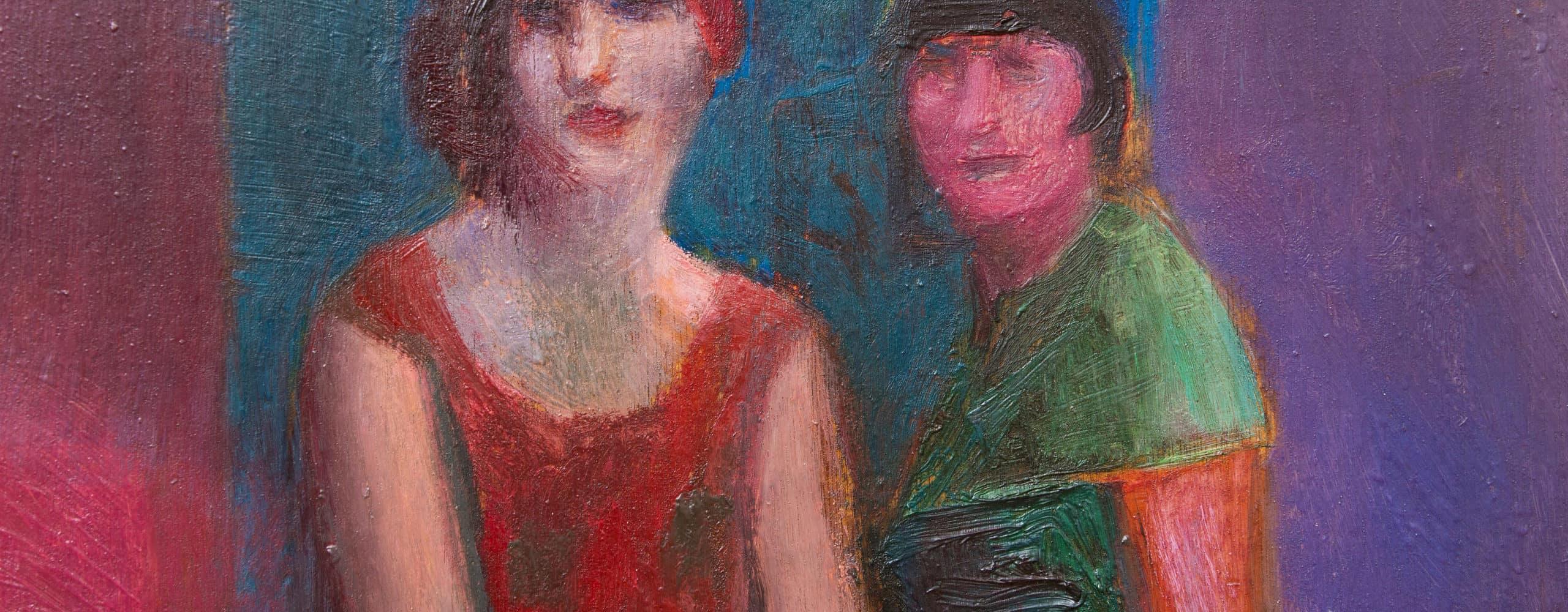 Clara Ewald-Weinhold (1903–1999) und Freundin | um 1928