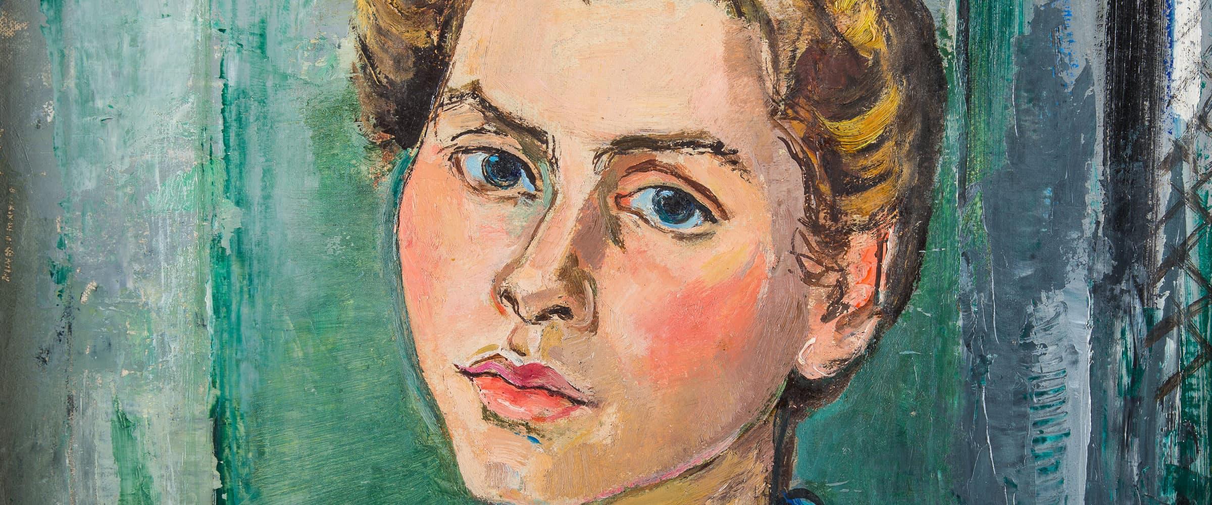Poträt der Tochter Miriam Etz (1914–2010) | o. D.