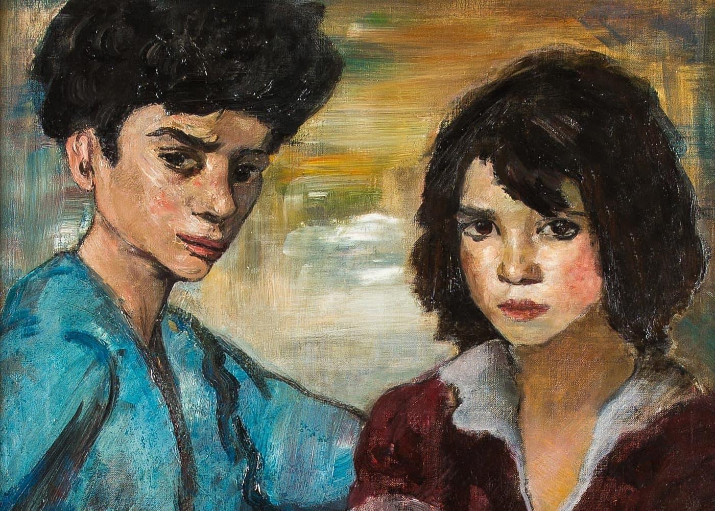 Zwei Zigeunerkinder | 1933