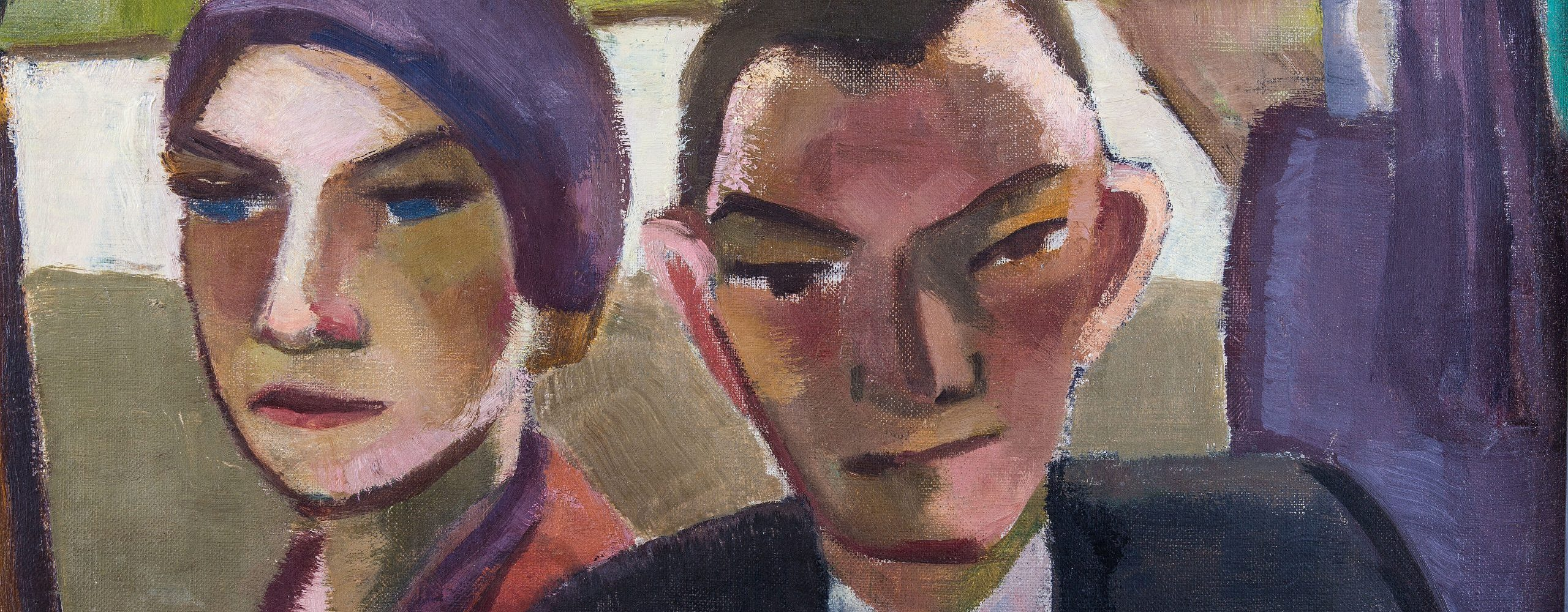 Max Beckmann (1884–1950) und seine Frau Quappi (1904–1986) | um 1930
