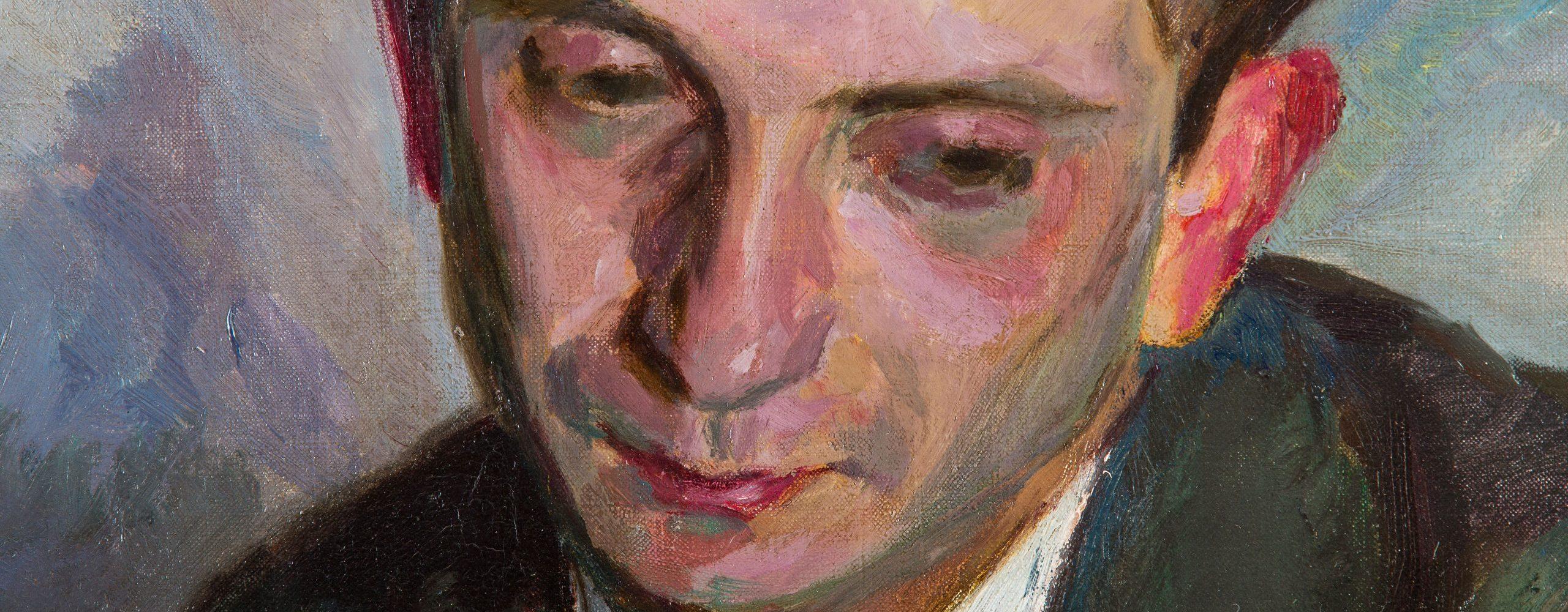 Porträt Ludwig Jonas | um 1912