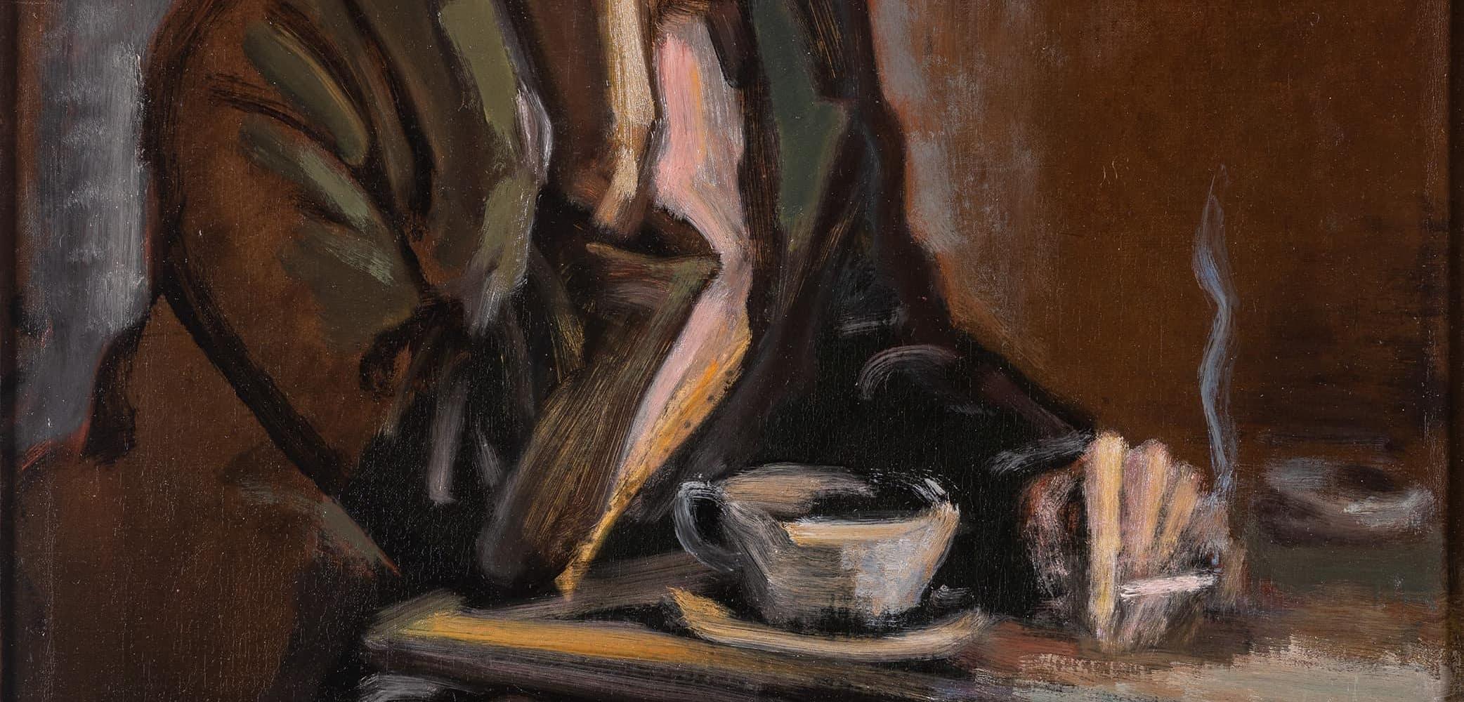 Dame im Café | o. D.